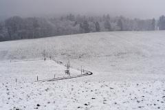 Wintereinbruch 18. März 2018